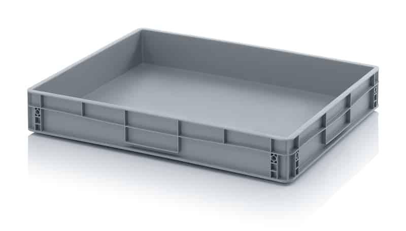 Embalogik-bac-plastique-alimentaire-casier-caisse-euronorme-euronorm-norme-industrie-bon-prix-location-recyclage-empilable-gerbable-gris-couvercle-poignees-800-600
